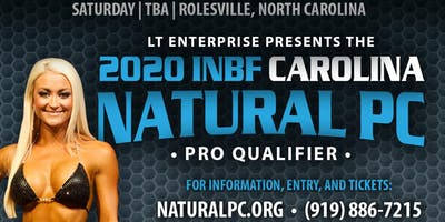 INBF CAROLINA NATURAL Physique Championship (OCTOBER 3, 2020)