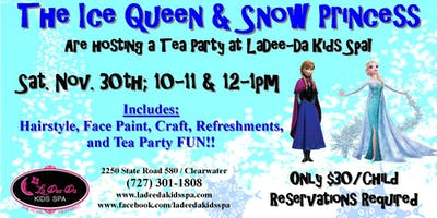 Frozen Themed Tea Party-SOLD OUT