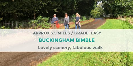BUCKINGHAM EVENING BIMBLE | 3.5 MILES | EASY  tickets