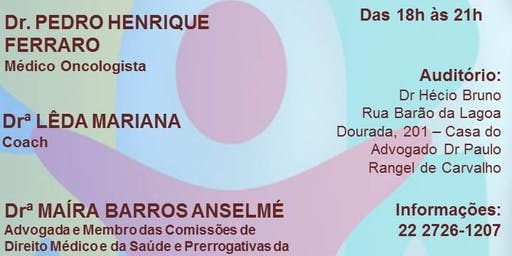 CICLO DE PALESTRAS - OUTUBRO ROSA