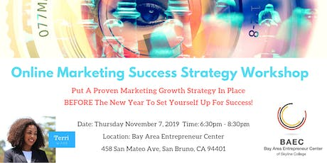 Online Marketing Success Strategy tickets