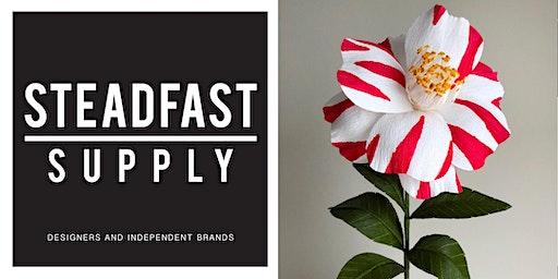 DIY Workshop | Holiday Camellias Flower Making Workshop