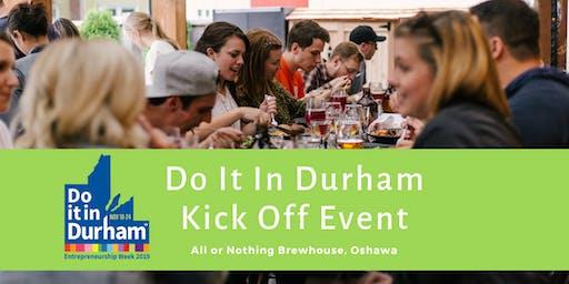 Kicking Off Do It In Durham Entrepreneurship Week!