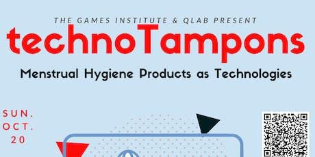 technoTampons: Menstrual Hygiene Products Technology-Dr. Milena Radzikowska tickets