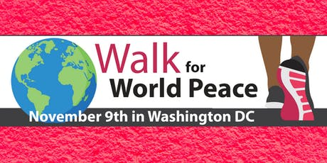 Walk for World Peace tickets