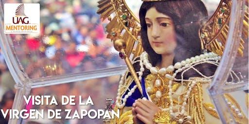 Visita de la Virgen de Zapopan (Apoyo Mentoring)