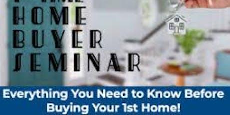 First Time Home Buyer's Seminar billets