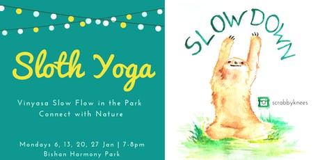 Sloth Yoga: Move slowly & mindfully! tickets