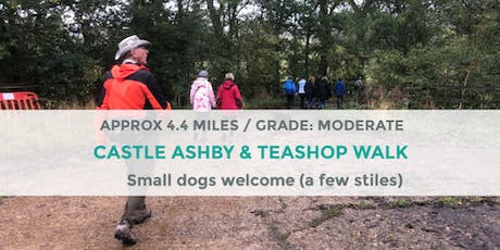 CASTLE ASHBY AND TEASHOP WALK | 4.4 MILES | MODERATE | NORTHANTS tickets