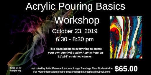 Acrylic Pouring Basic Workshop