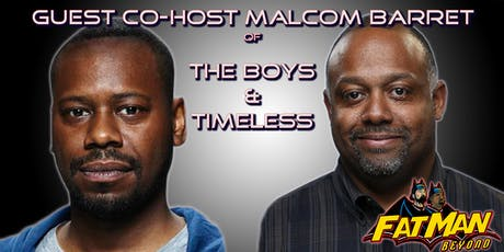 BLACKMAN BEYOND w/ Marc Bernardin & Guest Star Malcom Barrett 10/22 tickets