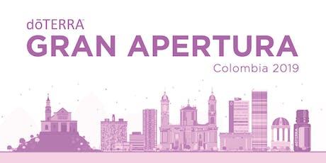 Evento post apertura dōTERRA-Cali-Colombia boletos