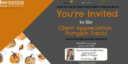Client Appreciation: Pumpkin Patch