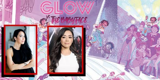 """GLOW vs the Babyface"" Signing with AJ MENDEZ and AIMEE GARCIA"