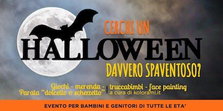 Festa di Halloween per bambini e genitori biglietti