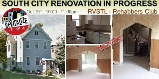 ReVitalize STL - South City Renovation in Progress Tour