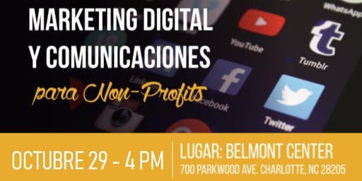 Marketing Digital y Comunicaciones para non-profits.