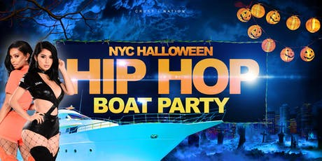 Hip Hop & R&B Halloween Week Boat Party NYC Yacht Cruise Manhattan tickets