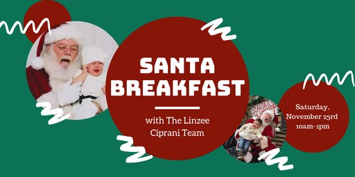 Breakfast with Santa and The Linzee Ciprani Team