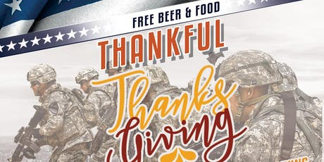 Thankful Thanksgiving Real Estate Networking Event donating to Veterans tickets