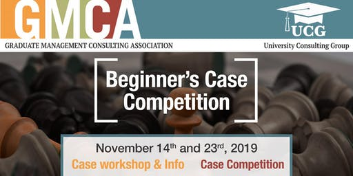 GMCA X UCG Western - Beginner Case Competition