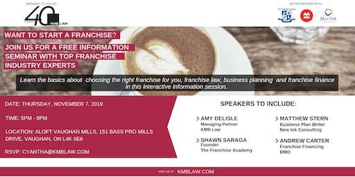 Franchise Information Seminar