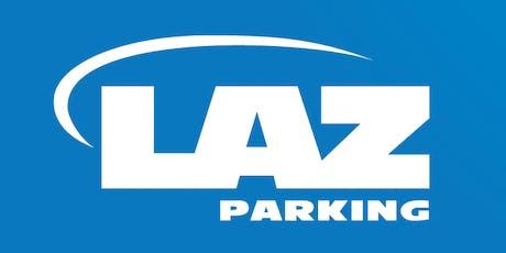 LAZ Parking Seasonal Snow Hiring Event tickets