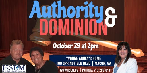 Authority and Dominion