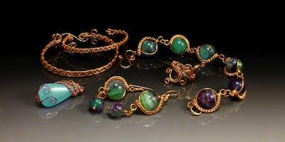 wire weaving jewellery for biginners