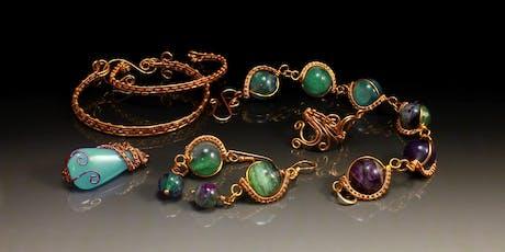 wire weaving jewellery for biginners tickets