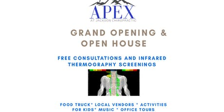 Grand Opening - Apex at Jackson Chiropractic tickets