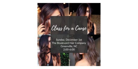 Class for a Cause tickets
