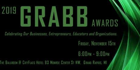 2019 GRABB Awards Reception tickets