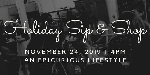 Holiday Sip & Shop 2019