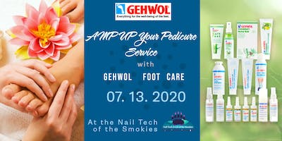 AMP UP Your Pedicure and Manicure Service with GEHWOL Foot Care at the Nail Tech of the Smokies