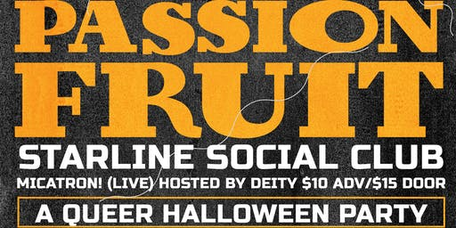 Passionfruit Halloween Party!!!
