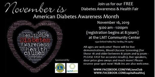 Free Diabetes Awareness & Health Fair