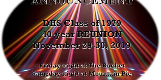 Friday Night - DHS 40-year Reunion