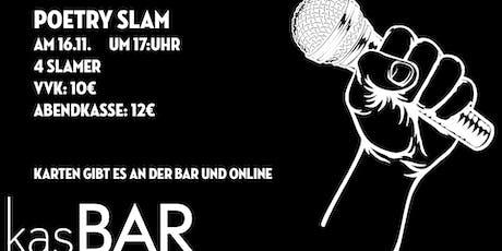 Poetry Slam in der KasBAR Tickets