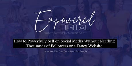 Empowered Digital Live Event tickets