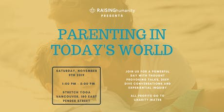 PARENTING IN TODAY'S WORLD tickets