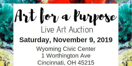Art for a Purpose - Live Art Auction tickets