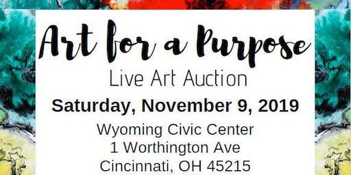 Art for a Purpose - Live Art Auction