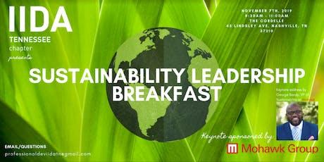 IIDA TN Chapter Sustainability Leadership Breakfast 2019 tickets