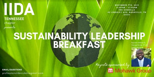 IIDA TN Chapter Sustainability Leadership Breakfast 2019