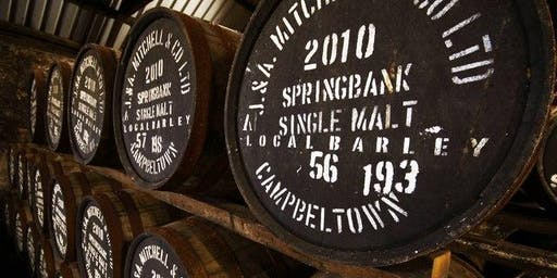 Springbank Distillery Scotch Tasting