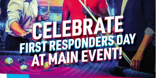 First Responders Day at Main Event Entertainment