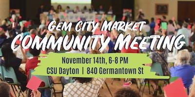 GCM November Community Meeting