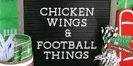 Football and Wings