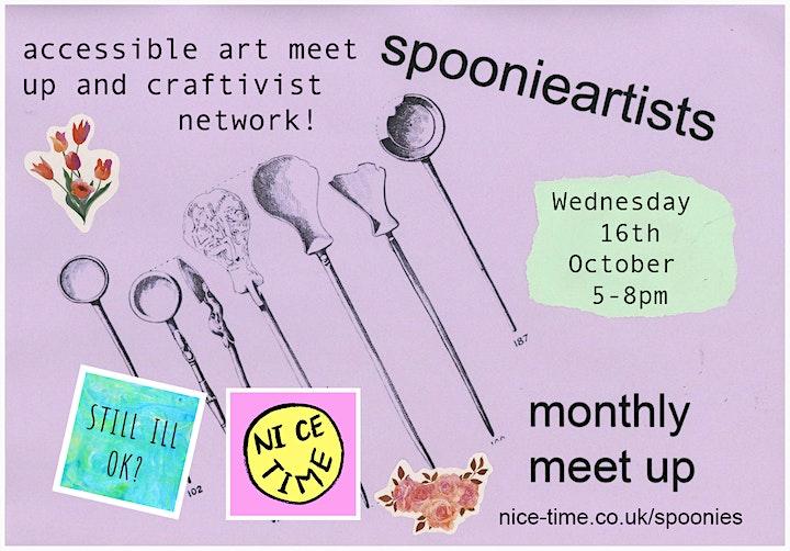 Spoonie Artists Meet-Up #1 image